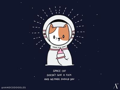 Spacecat gives no fucks
