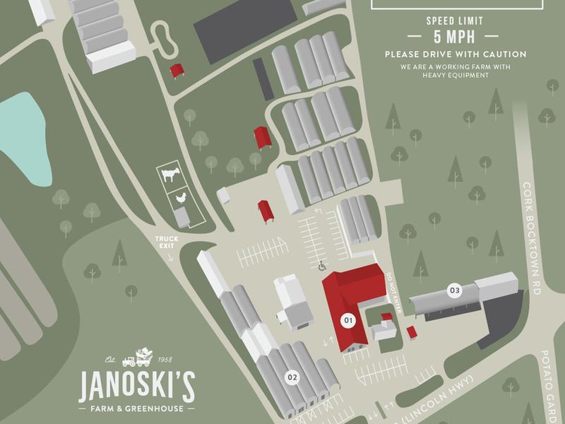 Farm Map // Janoskis