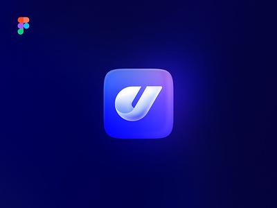 JCD Logo icon logo branding illustration digital color clean minimal design simple
