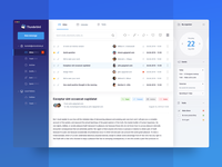 Redesign of Thunderbird e-mail client