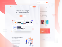 Showly landing page