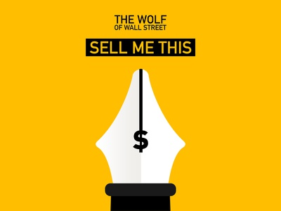 Sell Me This Pen the wolf of wall street sell me this pen minimal poster print movie film leonardo dicaprio martin scorsese