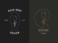 Dead Rose Design Concept Logo