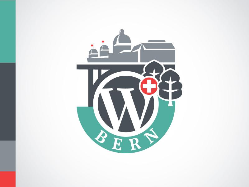 Logo der WordCamp Bern 2017 Veranstaltung.