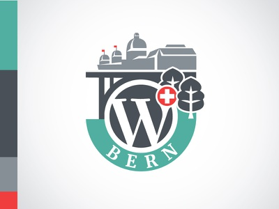 WordCamp Bern 2017 bern switzerland wordcamp wordpress logo