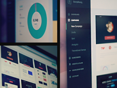 StampReady Official Launch email stampready dashboard analytics ui campaign newsletter mac
