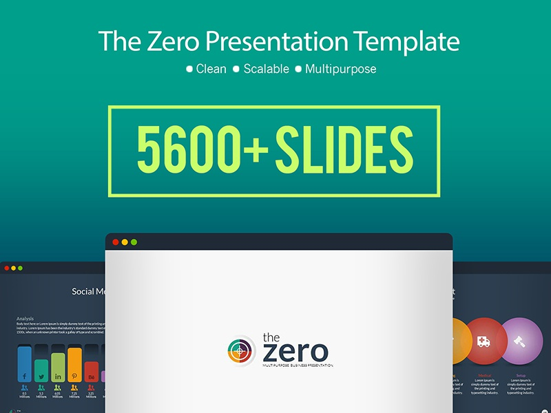 business infographic powerpoint presentation template by