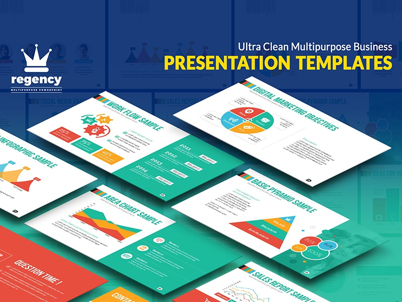 clean business presentation by contestdesign dribbble dribbble