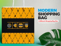 Shopping Bag Design Template | Food