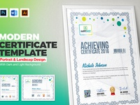 Multipurpose certificate template by contestdesign dribbble 01 modern multipurpose certificate design template free download yadclub Images