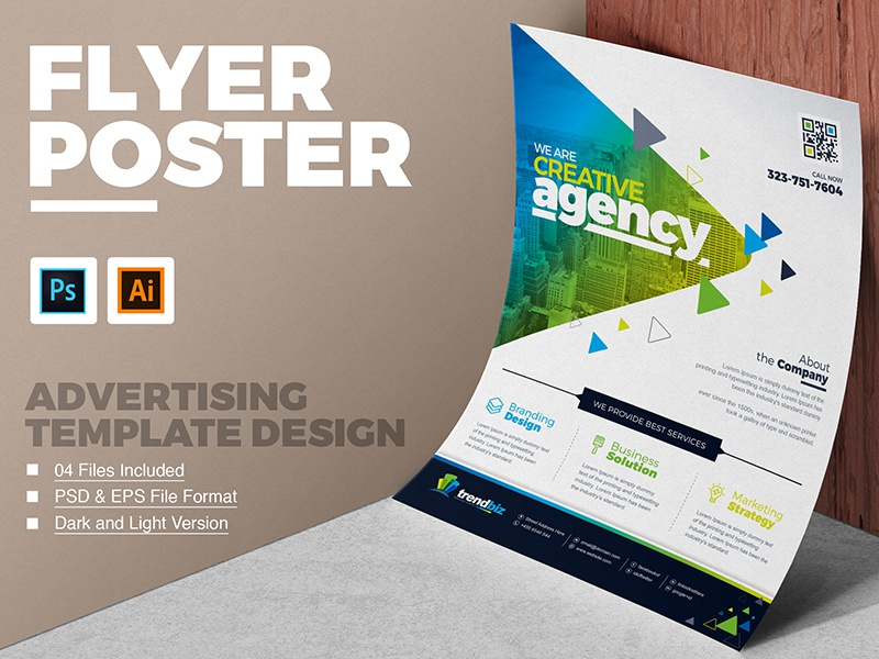 Corporate business flyer template by contestdesign dribbble 01 corporate business flyer poster design template free download friedricerecipe Image collections