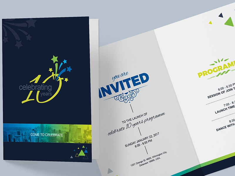 Invitation Card Template By Contestdesign On Dribbble