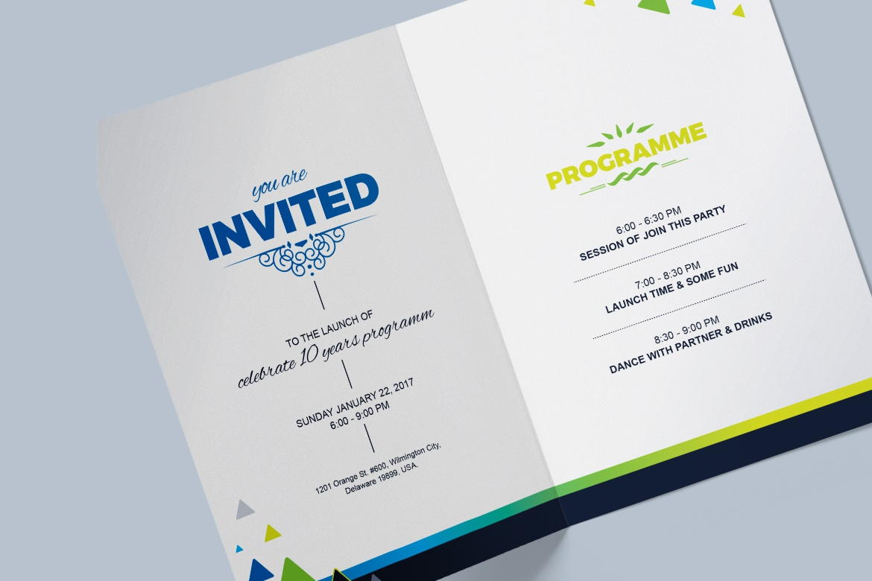 Dribbble 04 Invitation Card Jpg By Contestdesign