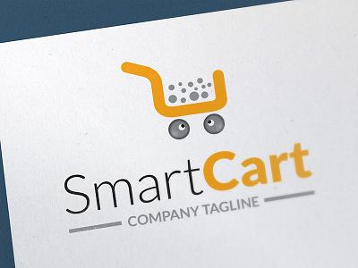 Smart Cart Shopping Cart Logo logo bundle faminine logo vintage logo editable logo vector logo logo template logo shopping logo shopping cart logo cart logo smart cart