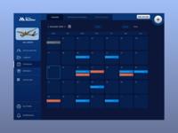 Aviation Blockchain Project – Scheduling Dashboard