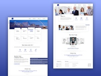 Landing page routine 2