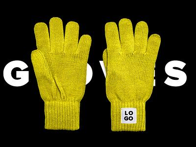 Winter Gloves Free Mockup PSD mockup psd mockup free gloves winter