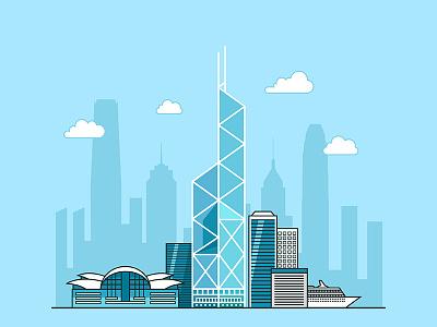 HongKong design building ui