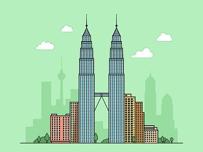 Kuala Lumpur design building ui