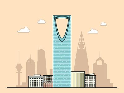 Riyadh design building ui