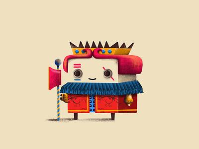 J character design design style frame j app concept card game character illustration