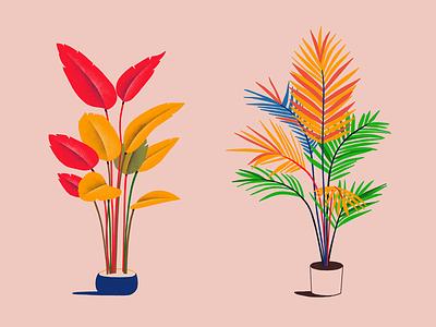 Flowers plant flowers doodle illustration