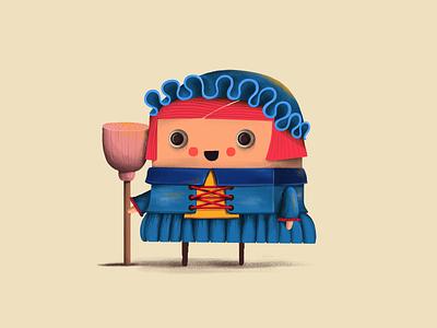Character game art illustration character design