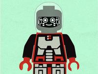 Lego Cyborg Poster