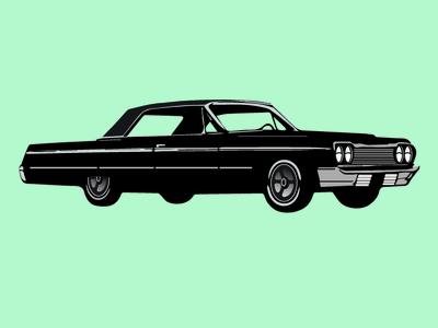 64 Chevy Impala Color