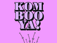 Kombooya! Kombucha Typography