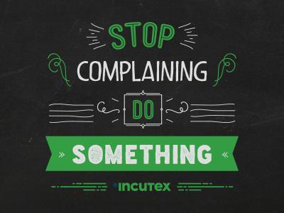 Do something inspiration lettering phrase