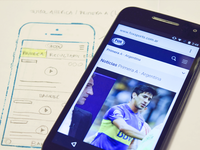 Design process for FOX Sports Latam