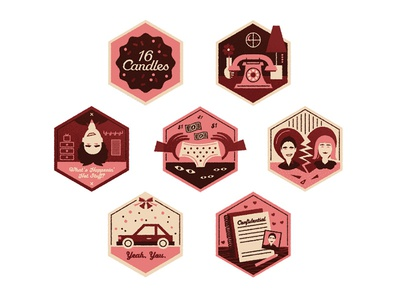 16 Candles Badges