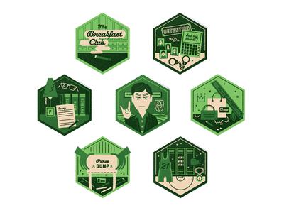 Breakfast Club Badges
