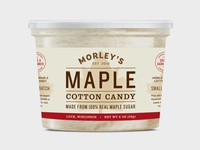 Maple Cotton Candy Label