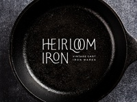 Heirloom Iron Logo