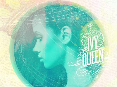 Ivy Queen designers mx texture queen lines crown cover music type
