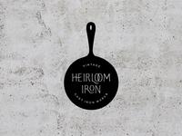 Heirloom Iron Secondary Logo