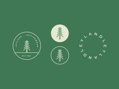 Leyland Mark fitness clothing apparel adventure forest spirit marks branding tree portland maine leyland