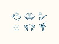 Yacht Club Icons
