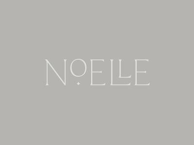 Noelle Logo natural neutral calm brand star branding typography logo logo design sleep