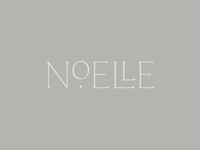 Noelle Logo natural neutral calm brand star branding typography logo logo design sleep