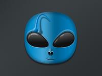 Alien Blue iOS icon