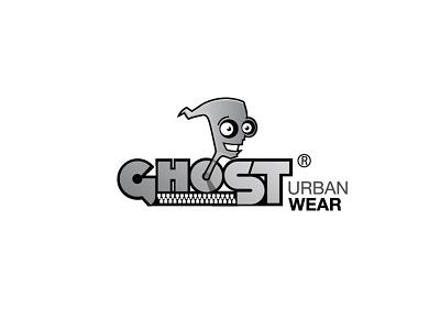 Ghost Urban Wear illustrator logotype logo