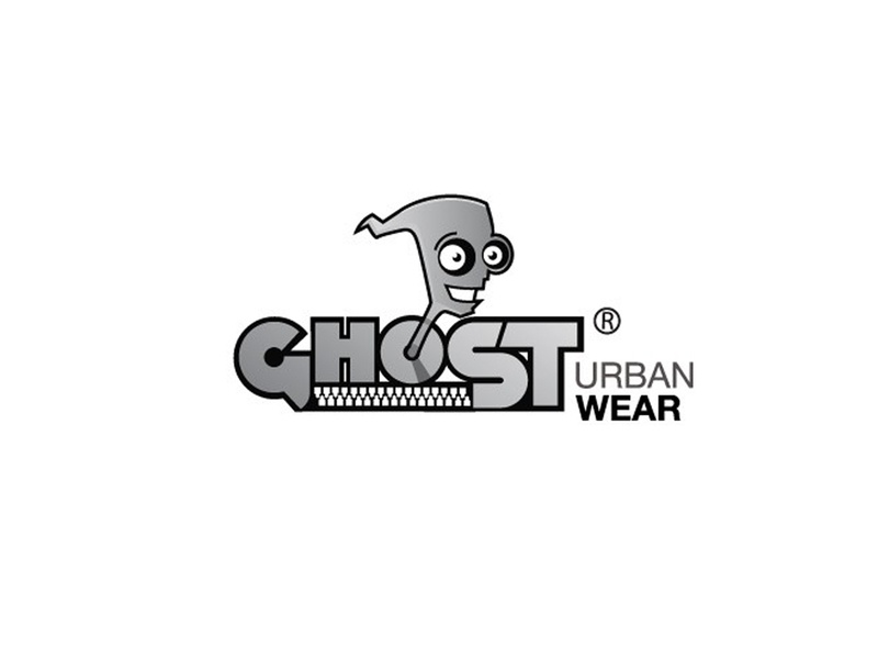 Ghost Urban Wear illustrator logotype logo
