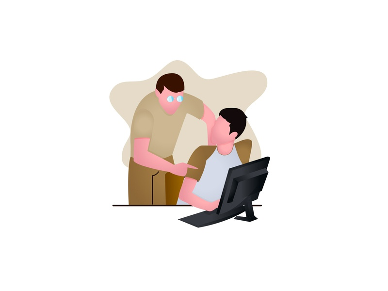 Flat Illustration flat illustration flat