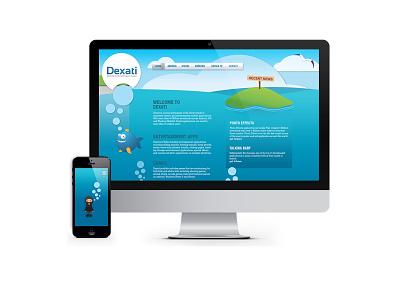 Dexati UI (prev) illustration design ui