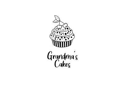 Grandma´s Cakes vector illustrator