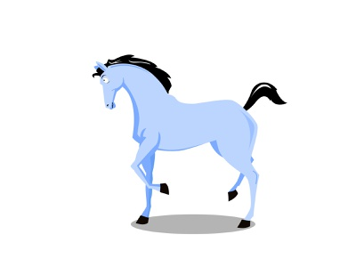 Horse Illustration funny illustration