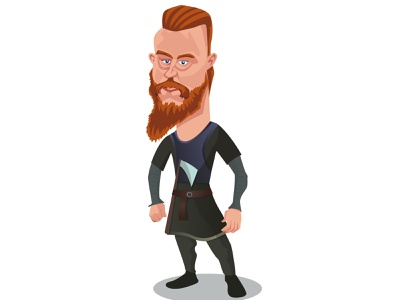 Ragnar character illustrator